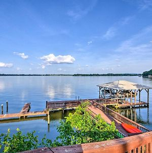 Waterfront Weiss Lake Getaway With Dock And Patio! photos Exterior
