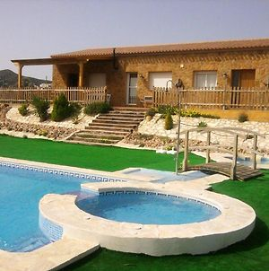 Villa With 5 Bedrooms In Bedar, With Wonderful Sea View, Private Pool, Enclosed Garden - 18 Km From The Beach photos Exterior