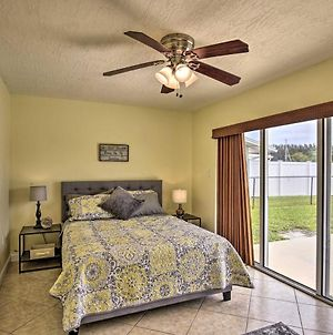 Canal Front Home With Pool About 1Mi To Cocoa Beach! photos Exterior