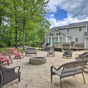 Charming 3Br Center Ossipee Home With Fire Pit! photos Exterior