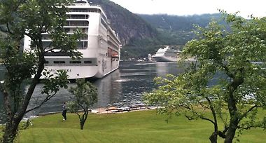 Fjorden Campinghytter Geiranger Norway From Us 91 Booked