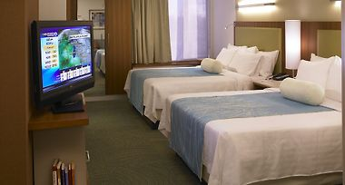 Springhill Suites By Marriott Detroit Metro Airport Romulus photos Room Two Queen Bed Suite with pullout sofabed