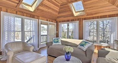 Refined Retreat With Outdoor Shower, 1 Block To Beach photos Exterior Mashpee House w/Deck Short Walk to the Beach!